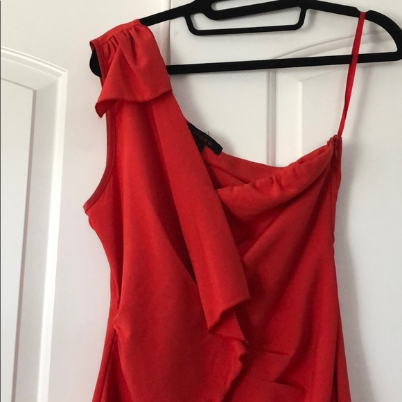 amazing quality shop for authentic get cheap Cherry red cocktail dress